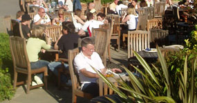 John Millington Beer Garden in Cheadle Hulme